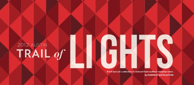 Trail of Lights commemorative booklet